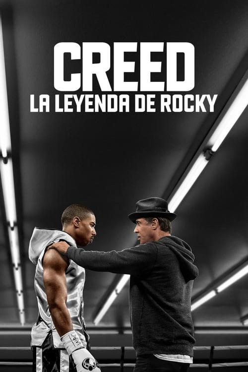 Póster película Creed. La leyenda de Rocky