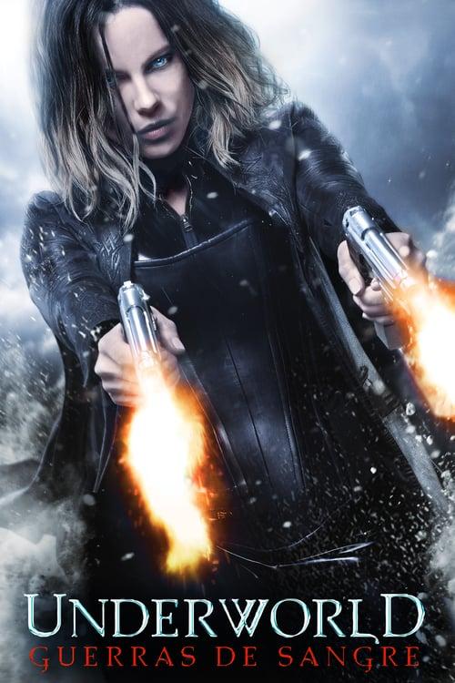 Póster película Underworld: Guerras de sangre