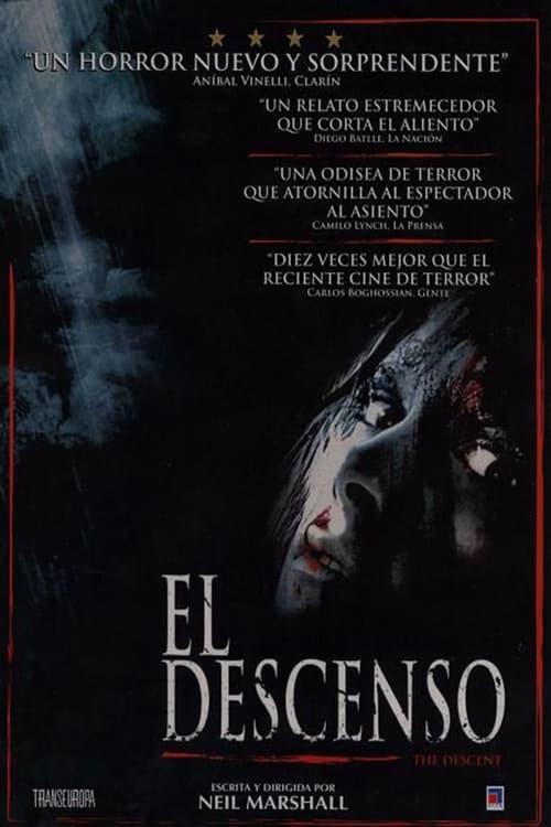 Póster película El Descenso