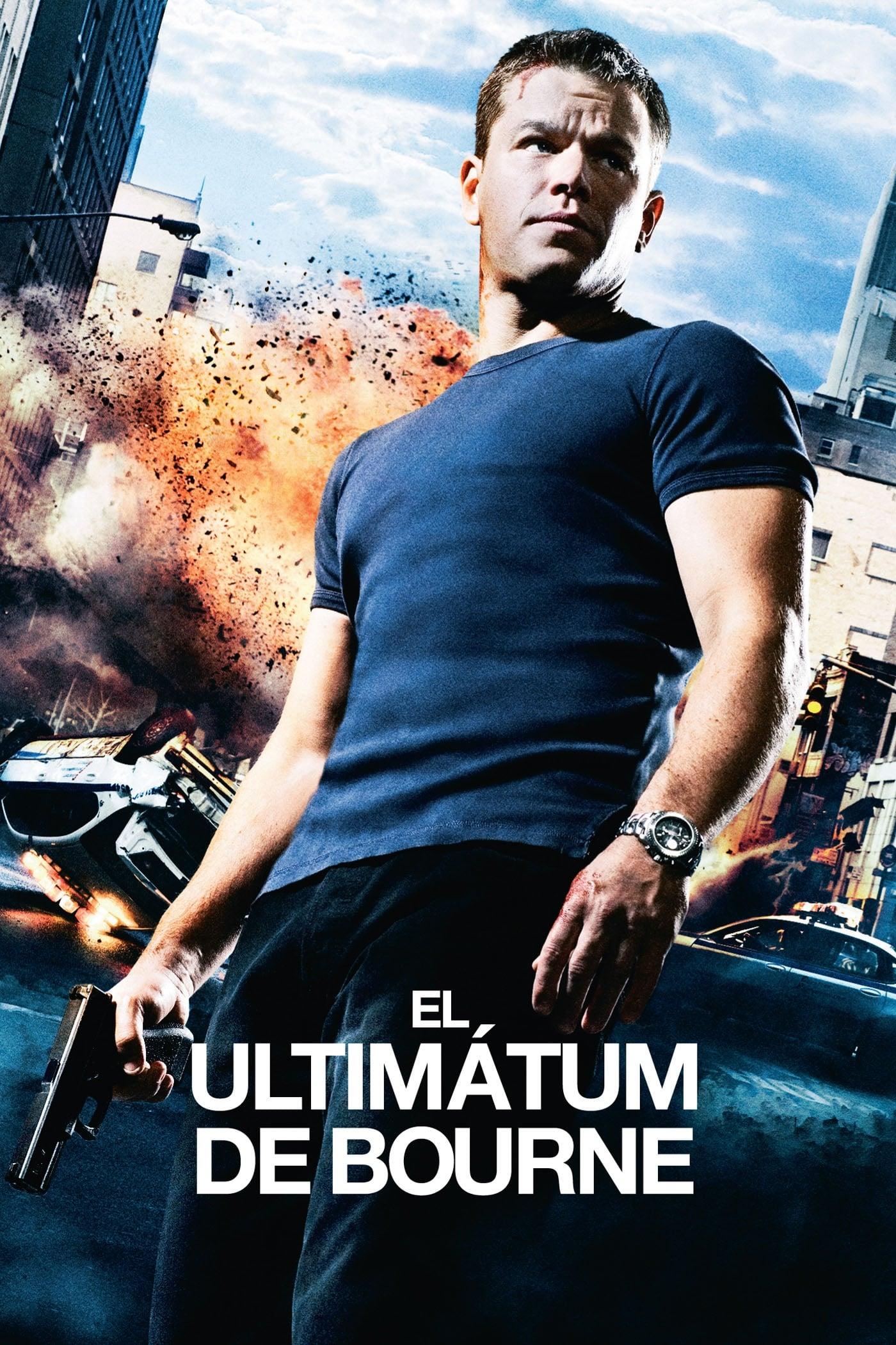 El ultimátum de Bourne poster