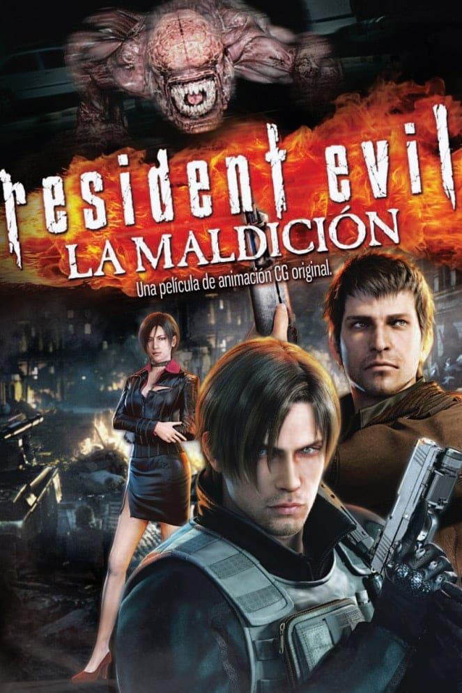 Resident Evil: La maldición poster