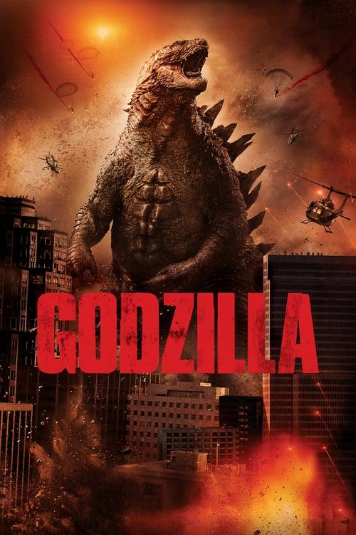 Póster película Godzilla