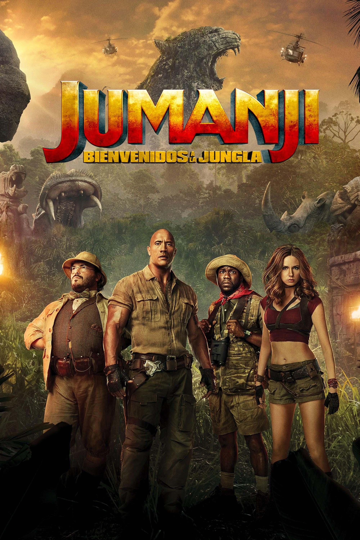 Póster película Jumanji: Bienvenidos a la jungla
