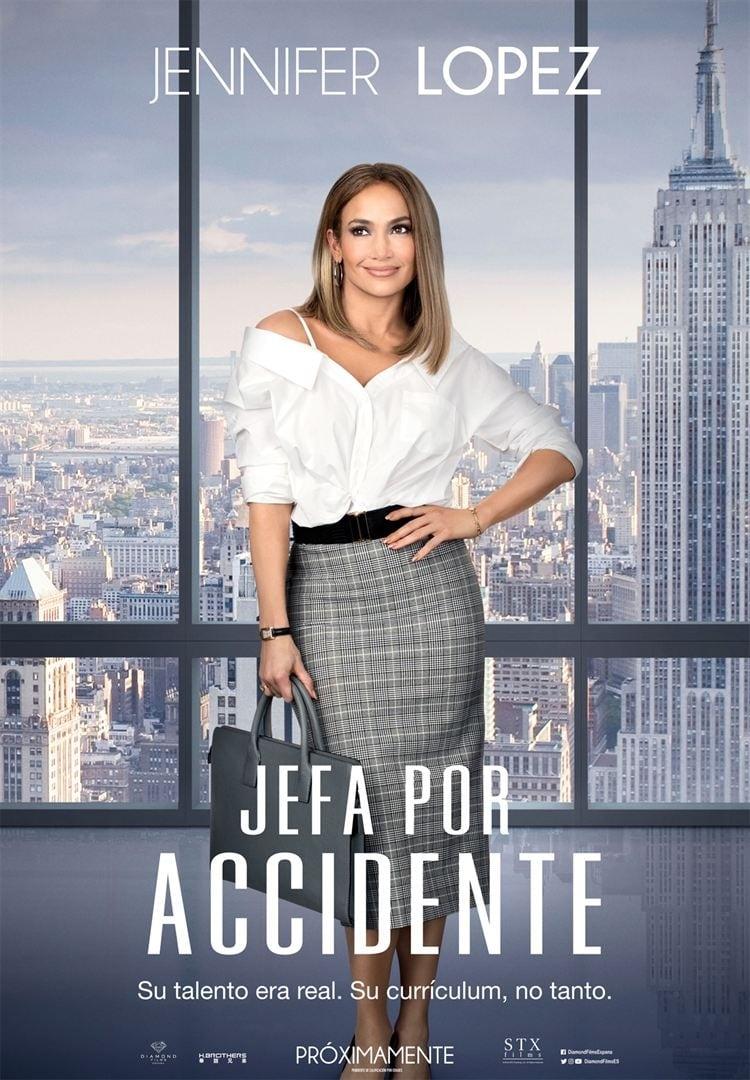 Jefa por accidente poster
