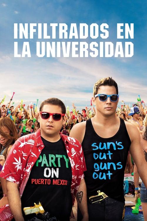 Póster película Infiltrados en la universidad