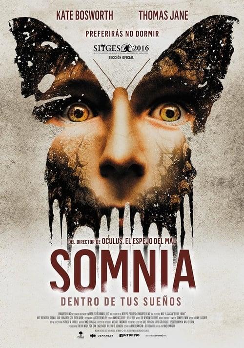 Póster película Somnia. Dentro de tus sueños
