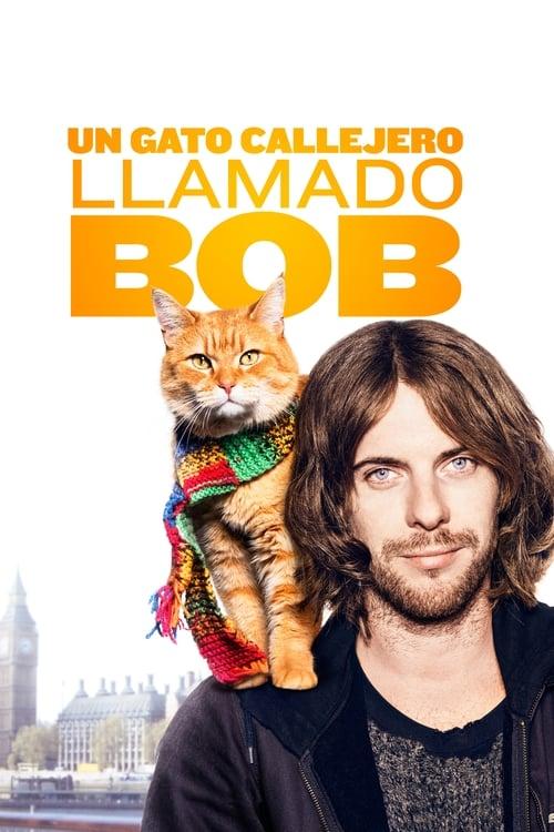 Un gato callejero llamado Bob poster