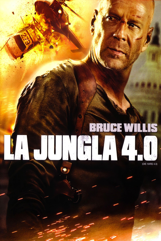 Póster película La jungla 4.0