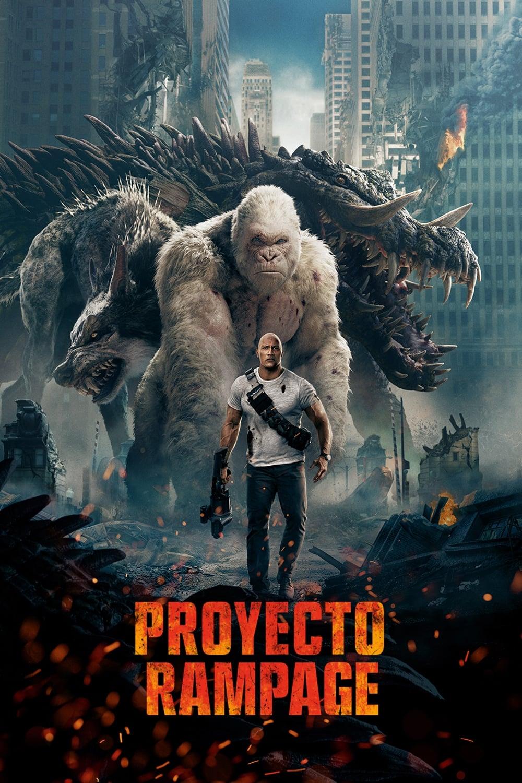 Póster película Proyecto Rampage
