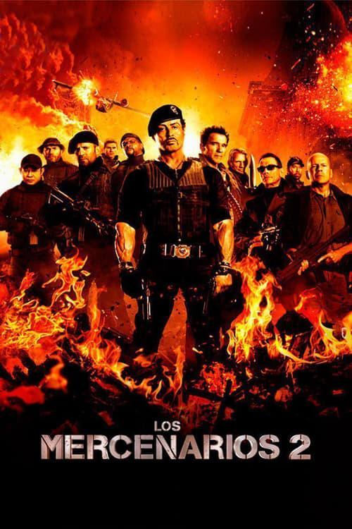 Póster película Los mercenarios 2