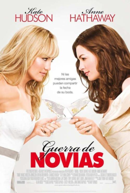 Póster película Guerra de novias