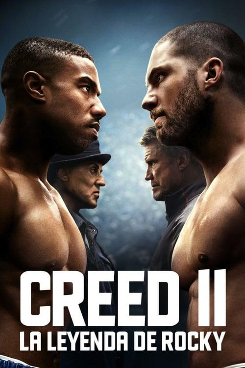 Póster película Creed II: la leyenda de Rocky