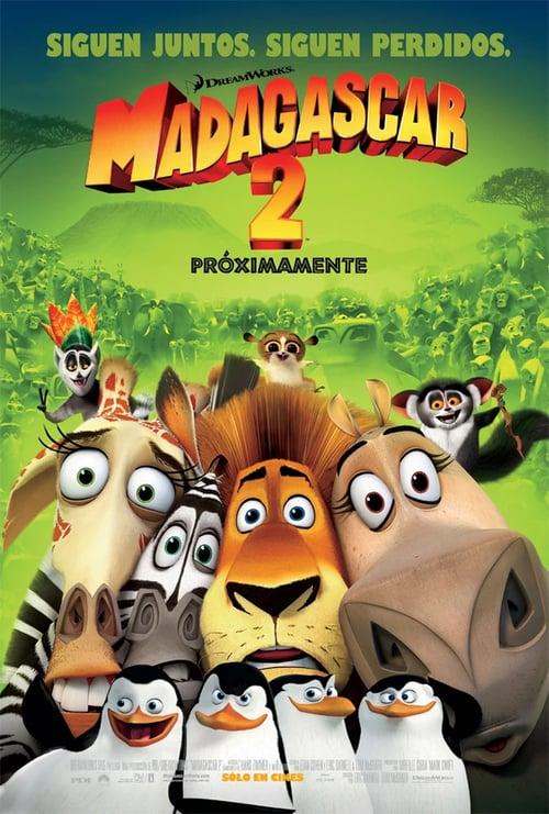 Póster película Madagascar 2