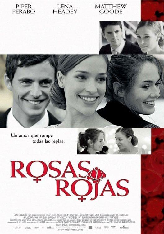 Póster Rosas rojas