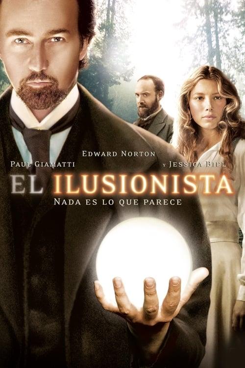 Póster película El ilusionista