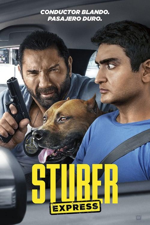 Póster película Stuber Express