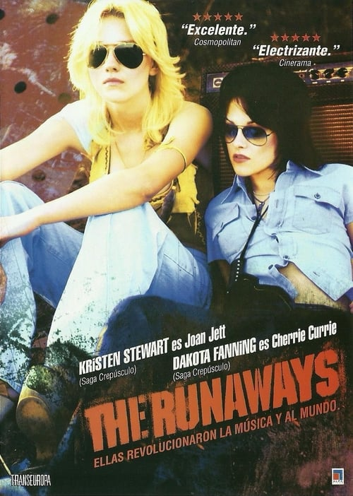Póster película The Runaways