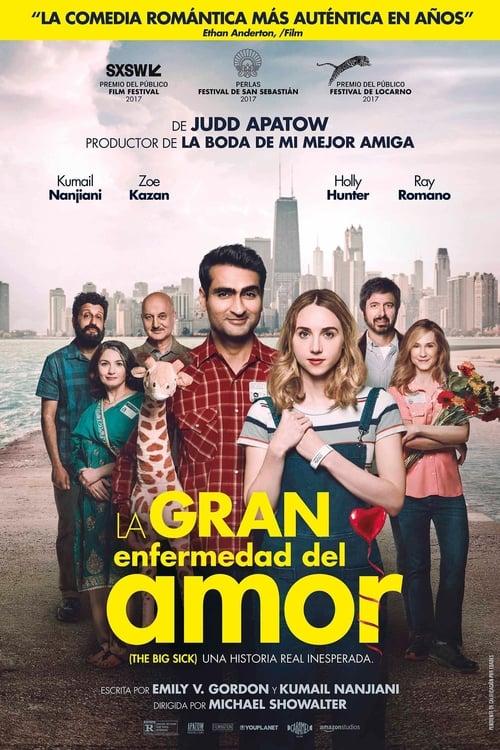 Póster película La gran enfermedad del amor