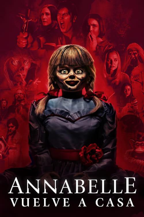 Póster película Annabelle vuelve a casa