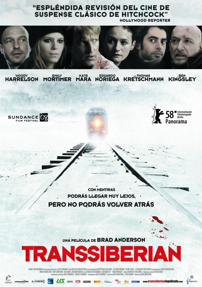 Póster película Transsiberian