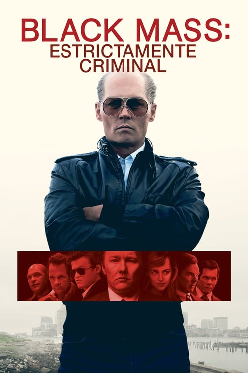 Póster película Black Mass: Estrictamente criminal
