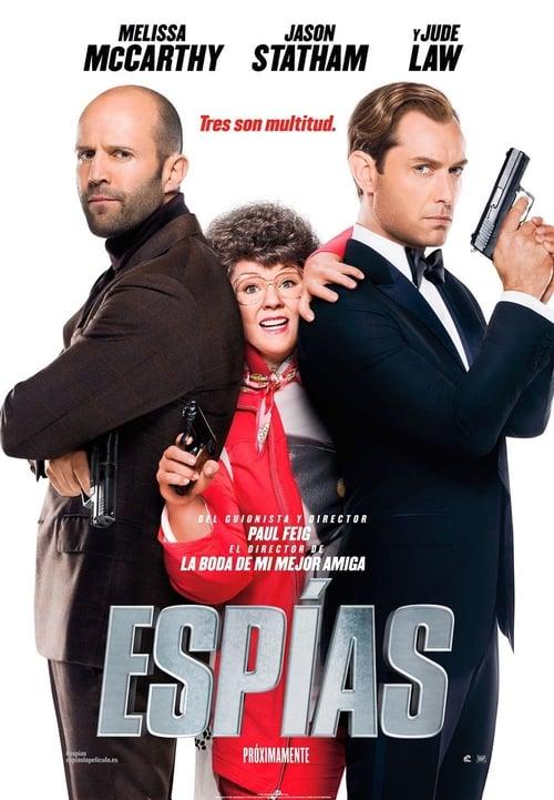 Espías poster
