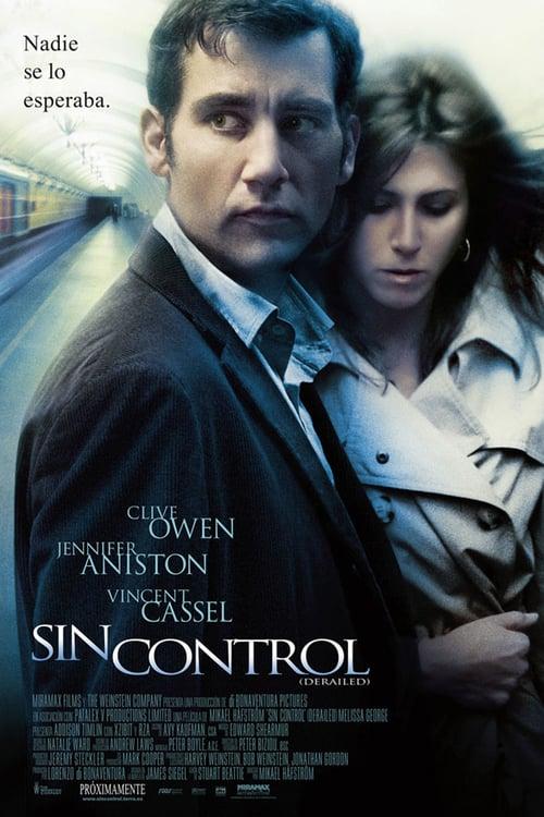 Póster película Sin control (Derailed)