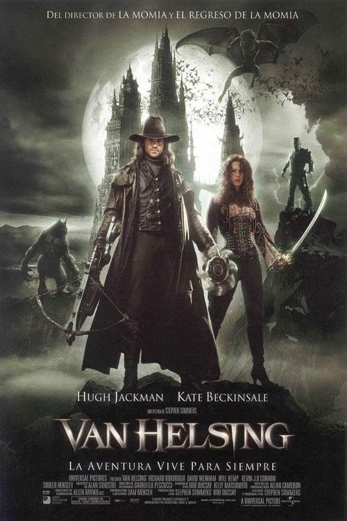 Póster película Van Helsing