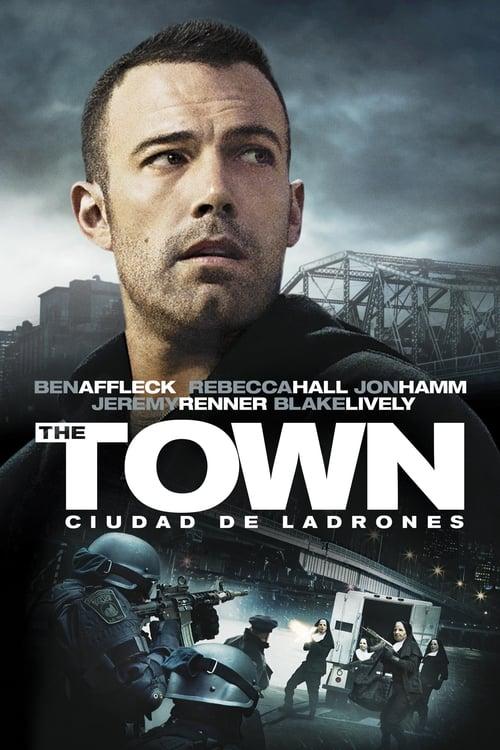 Póster película The Town: Ciudad de ladrones