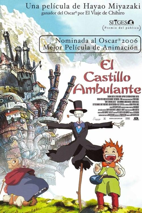 Póster película El castillo ambulante