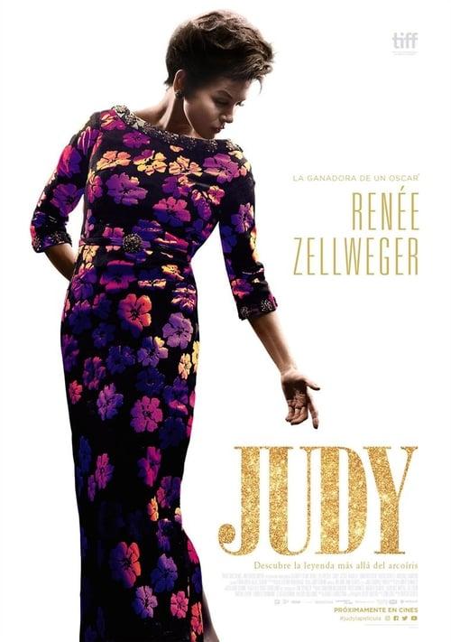 Póster película Judy