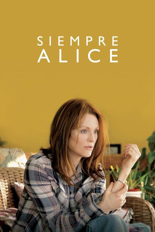 Póster película Siempre Alice