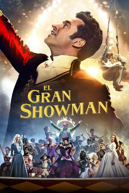 Póster película El gran showman