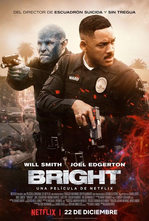 Póster película Bright