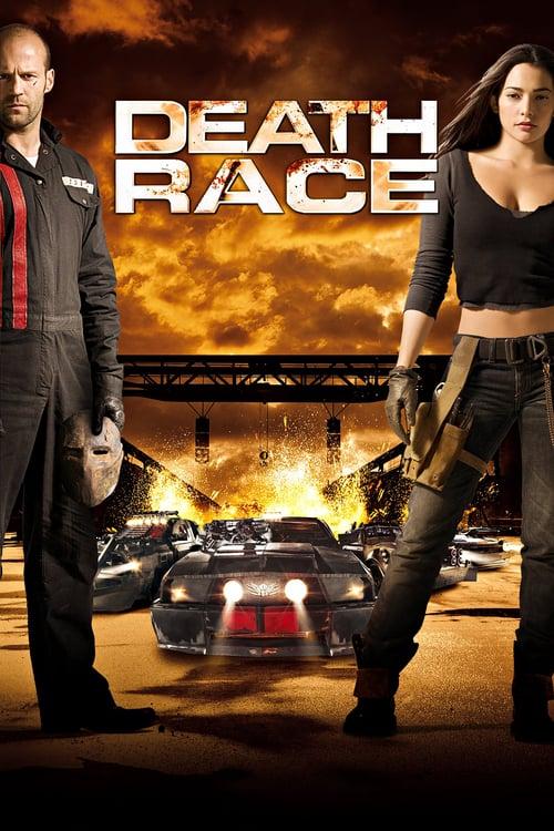 Póster película Death Race: La carrera de la muerte