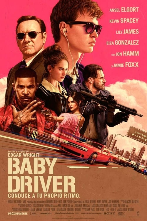 Póster película Baby Driver