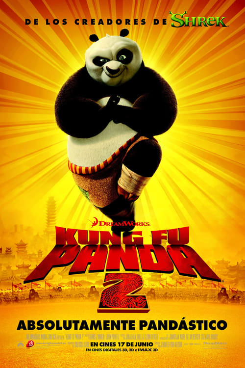 Póster película Kung Fu Panda 2