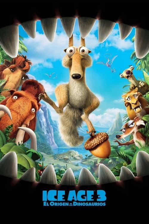 Póster película Ice Age 3: El origen de los dinosaurios