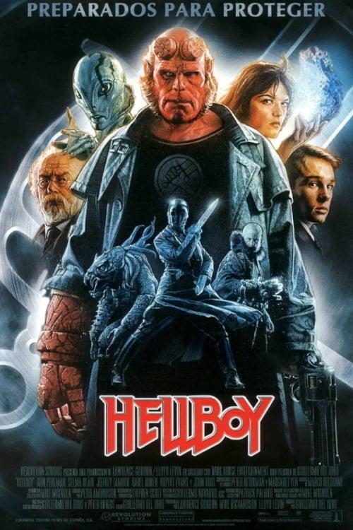Póster película Hellboy