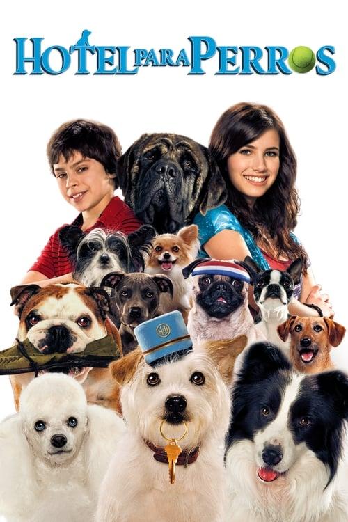 Hotel para perros poster