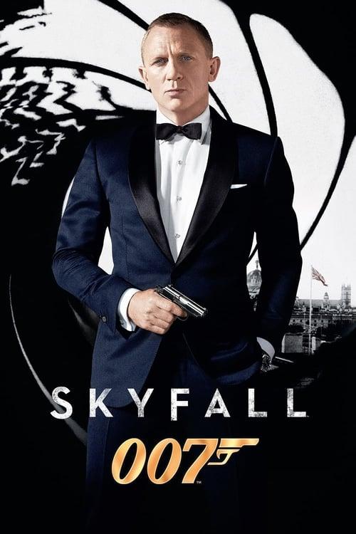 Póster película Skyfall