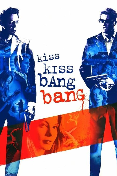 Póster película Kiss Kiss, Bang Bang