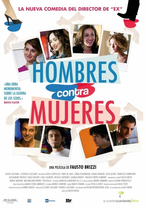 Hombres contra mujeres poster