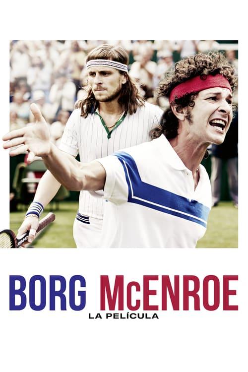 Borg McEnroe. La película poster