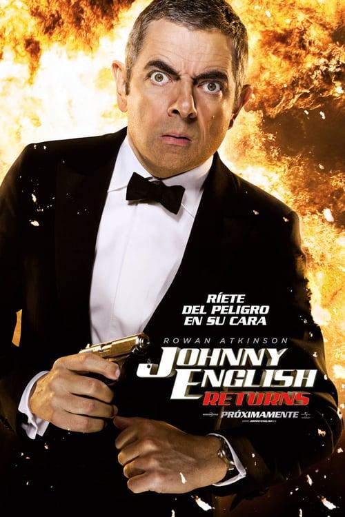 Johnny English Returns poster