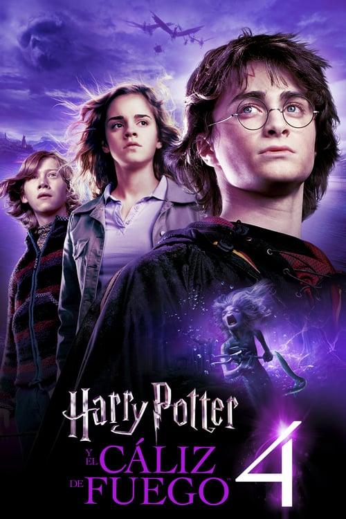 Póster película Harry Potter y el cáliz de fuego