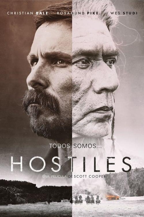 Hostiles poster