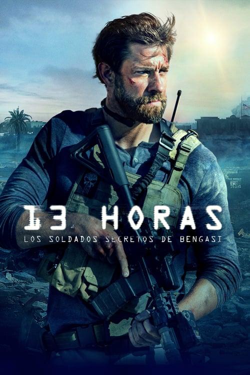 Póster película 13 horas: los soldados secretos de Bengasi