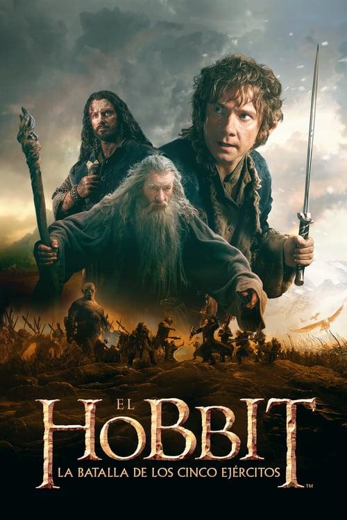 El hobbit: La batalla de los cinco ejércitos poster