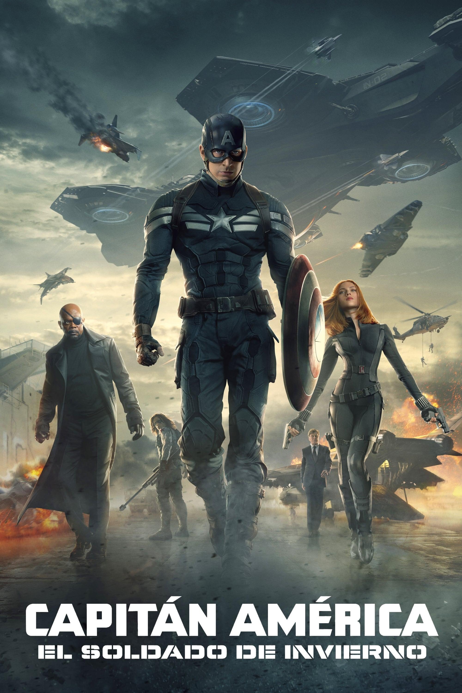 Póster película Capitán América: El soldado de invierno